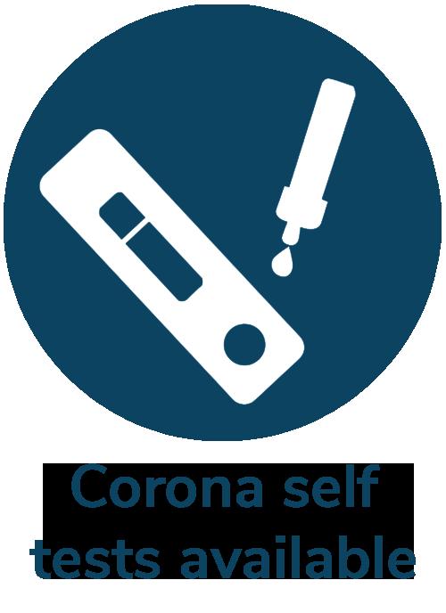 Order Corona self tests online